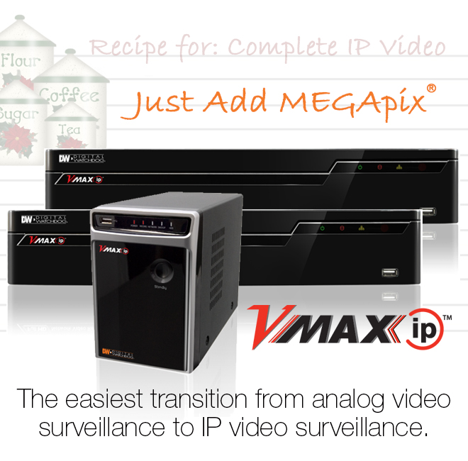 VMAXIP™ 8- and 16-Channel NVR
