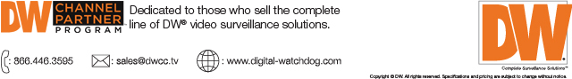 DW Channel Partner Program