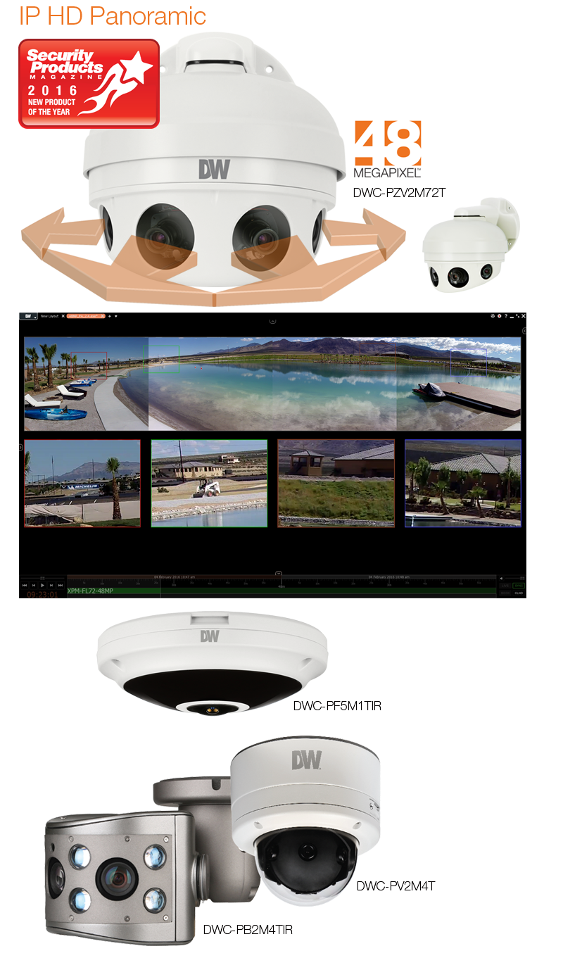 Digital Watchdog l MEGApix PANO™ Technology