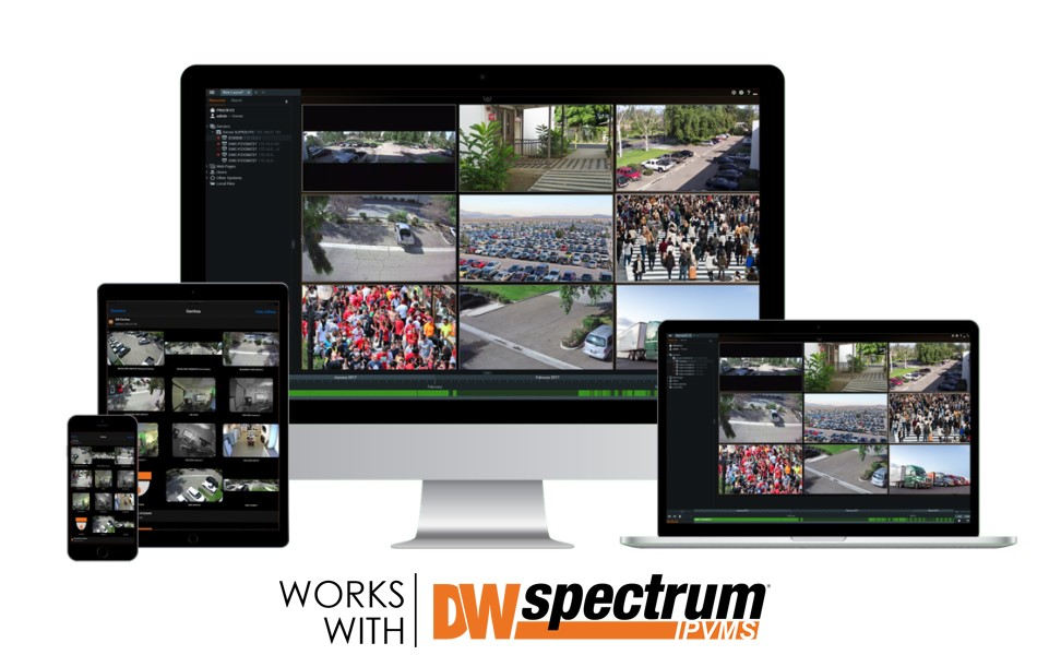 Works with DW Spectrum